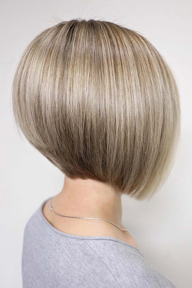 Graduated Short Bob #bob #layeredhair #shorthair
