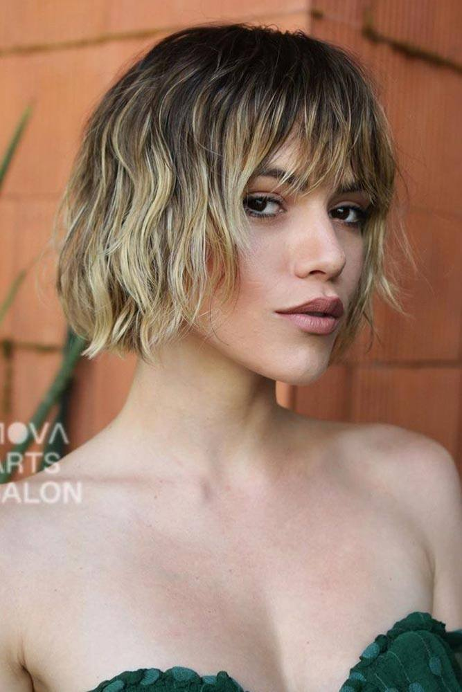 Classic Bob With Gentle Waves #shorthairstyles #shorthaircuts