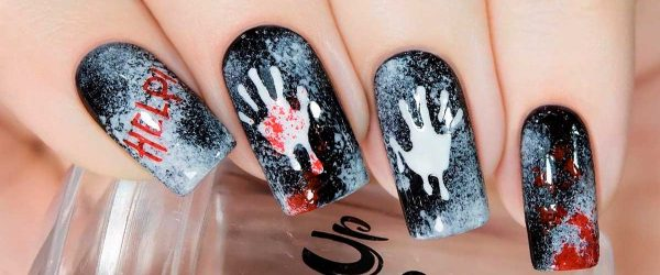 33 Sexy And Spooktacular Ideas For Halloween Nail Art To Scare Your Friends