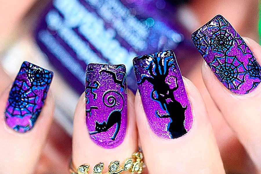 Cool And Easy Halloween Nail Ideas