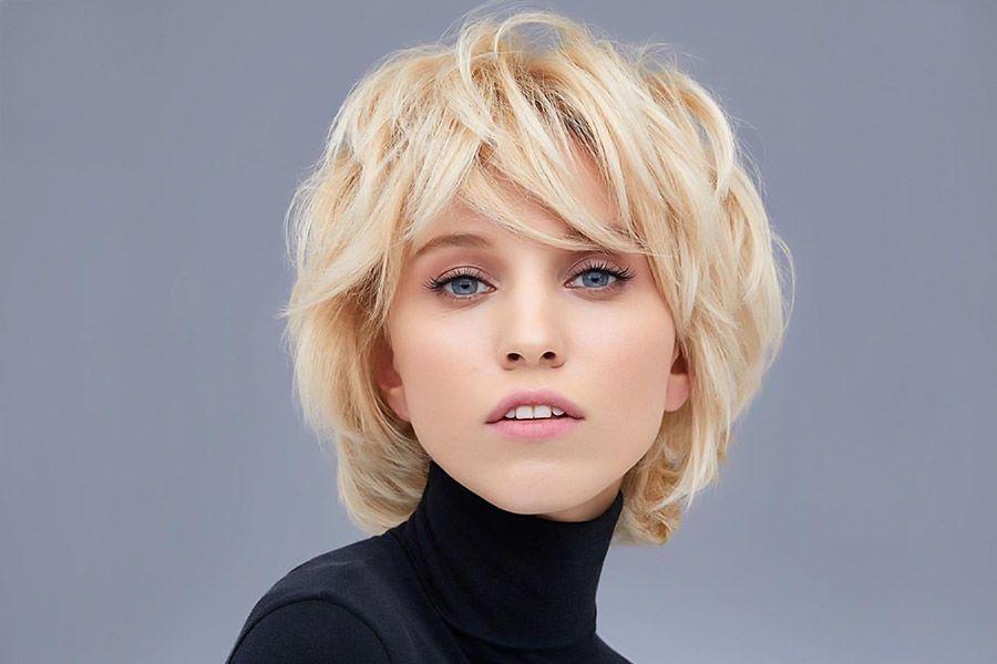 Layers Haircut With Bangs 72