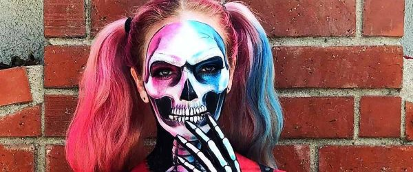 36 Really Cool Skeleton Makeup Ideas To Wear This Halloween