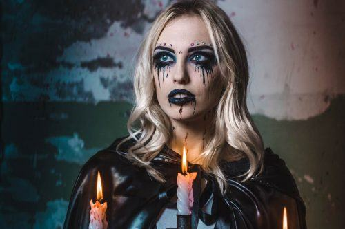 Glam and Sexy Vampire Makeup Ideas