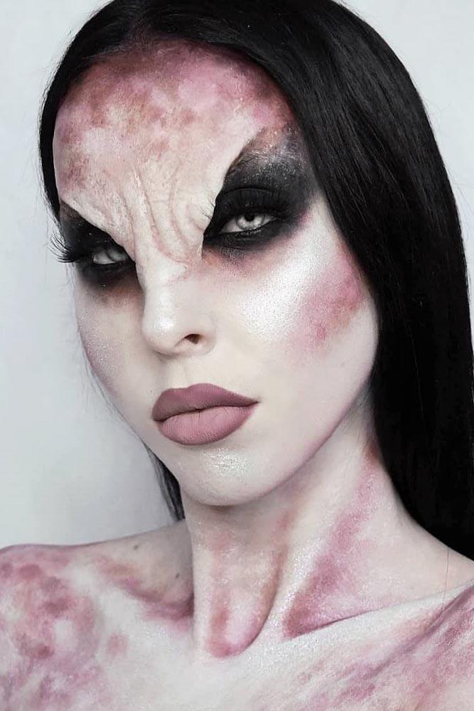 3D Vampire Makeup Idea #3dmakeup