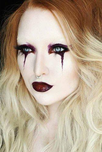 Pretty Vampire Halloween Makeup Ideas picture 4