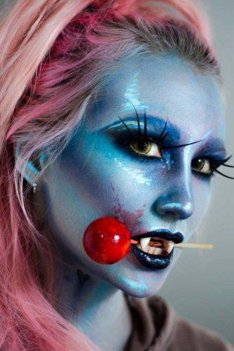 Fairy Vampire Makeup Idea