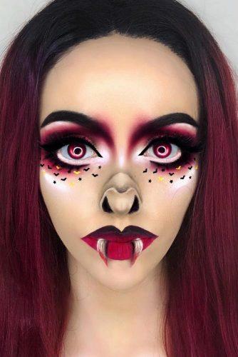 Bat Makeup Halloween Costume.Makeup Ideas For Bat Saubhaya Makeup