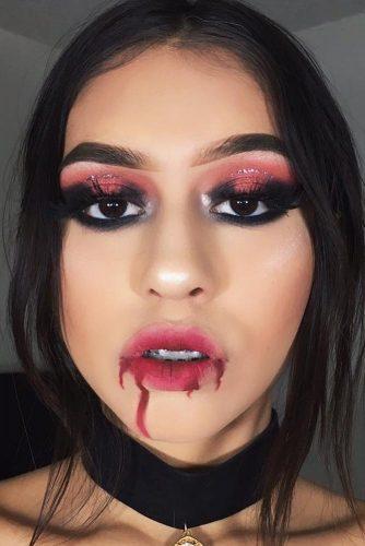 Glam And Sexy Vampire Makeup Ideas Crazyforus