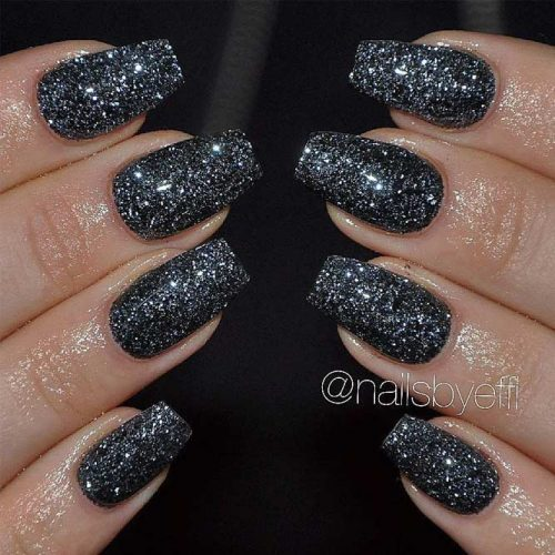 Simple Glitter Nails Designs picture 6