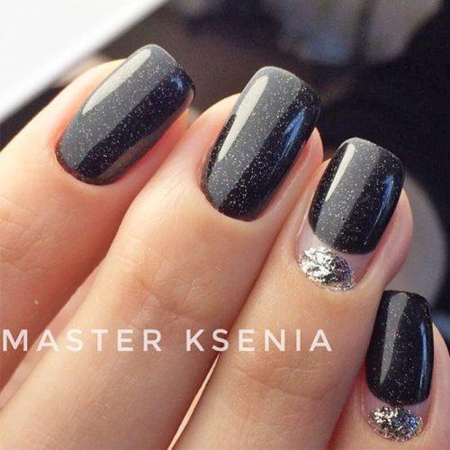Pretty Black Nail Designs for Any Occasion picture 2