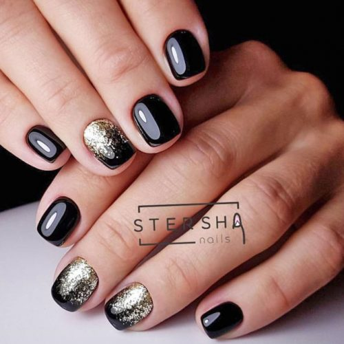 Simple Glitter Nails Designs picture 3