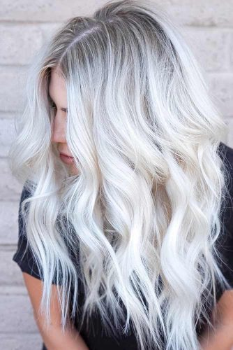 So Stylish and Cute Bleach Blonde Hair picture 2