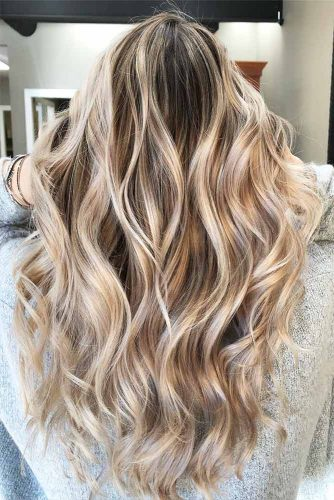 Color Melt Balayage on Blonde Hair Picture 6