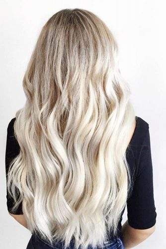Color Melt Balayage on Blonde Hair picture 2