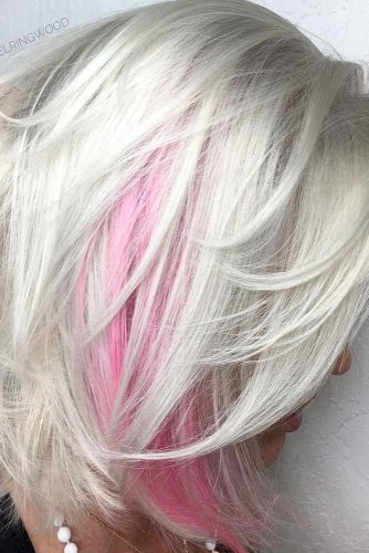 So Stylish and Cute Bleach Blonde Hair picture 4