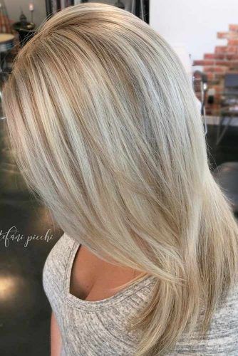 Color Melt Balayage on Blonde Hair picture 1