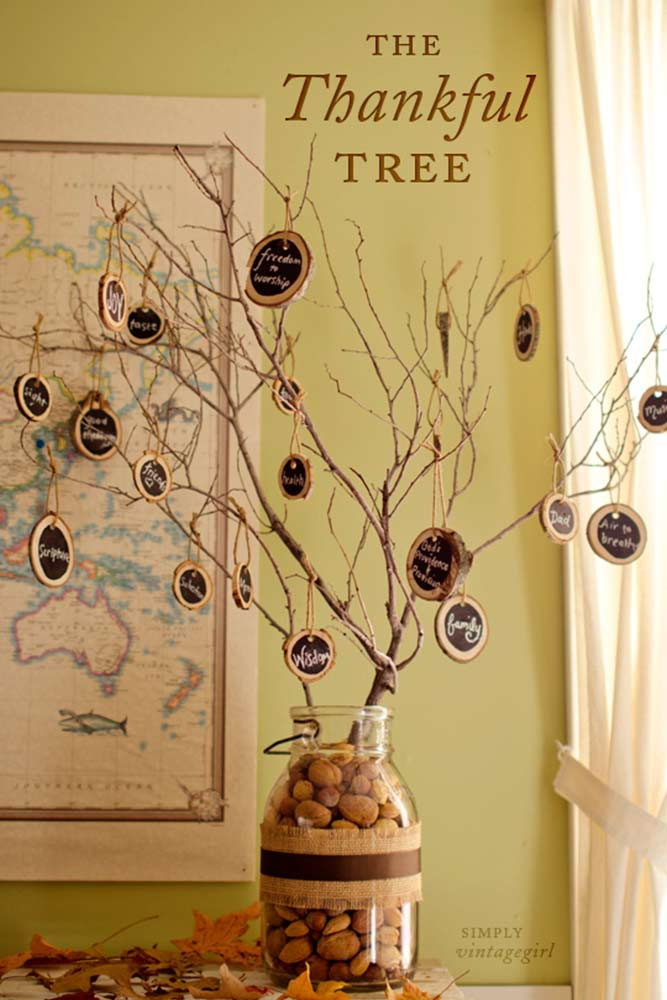Lovely DIY Thanksgiving Decorations picture 1