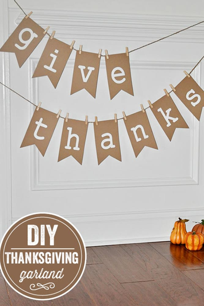 Lovely DIY Thanksgiving Decorations picture 4