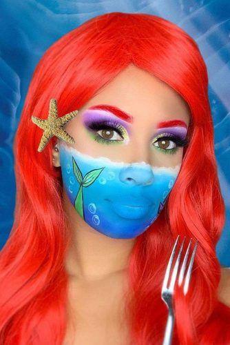 Ariel Fantasy Makeup #disney #mermaid