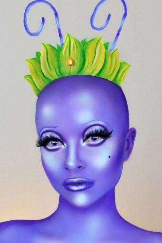 Princess Atta Makeup Idea #bugslife #princess