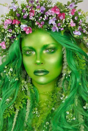 Te Fiti Fantasy Makeup #moana #disney