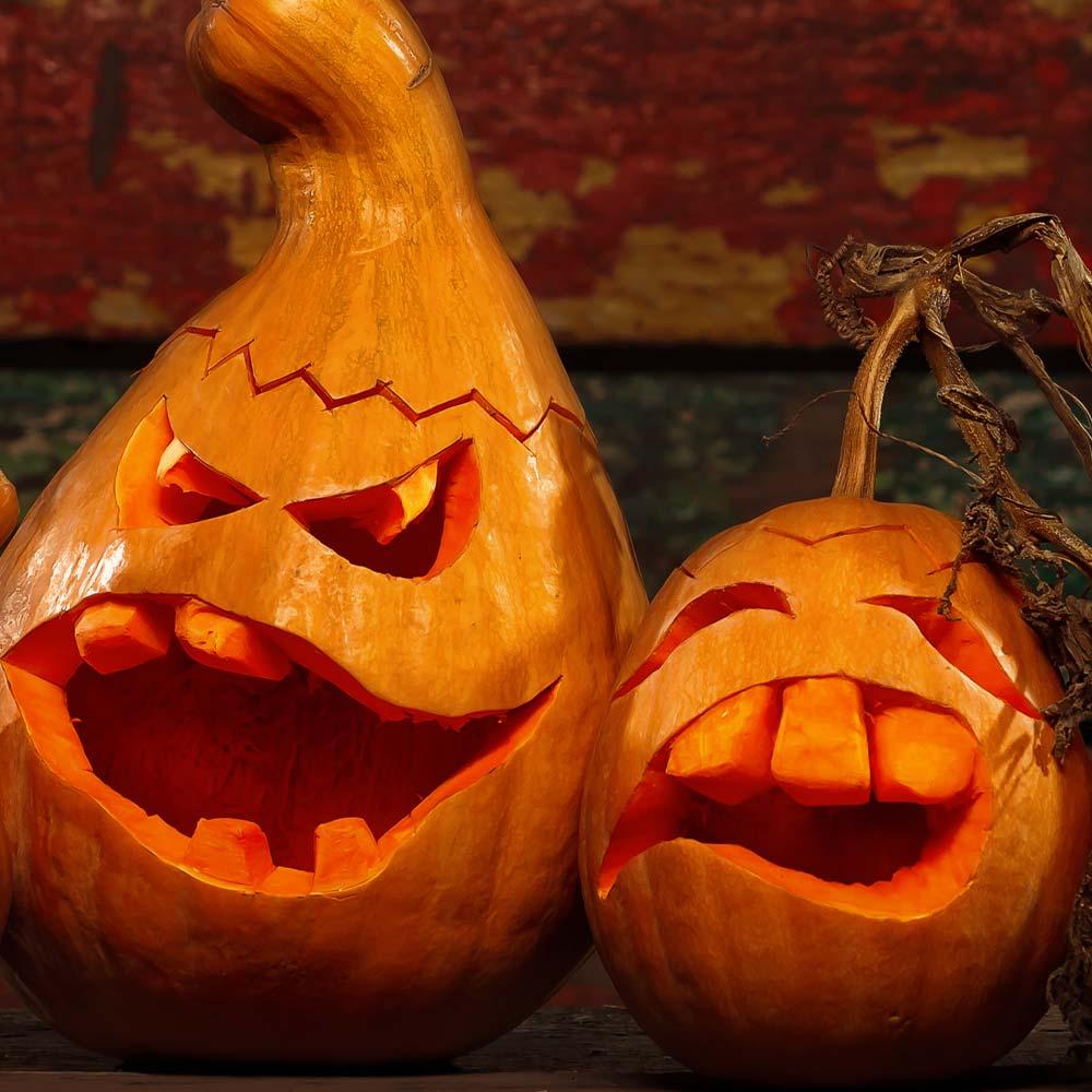 Funny Faces Pumpkin Carving