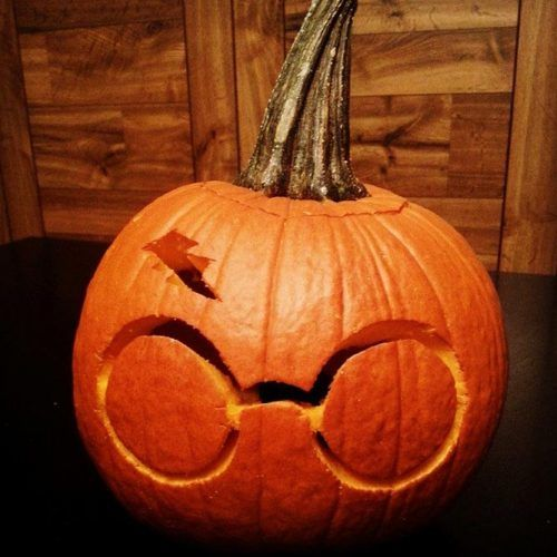 Harry Potter Pumpkin Carving Idea #harrypotter
