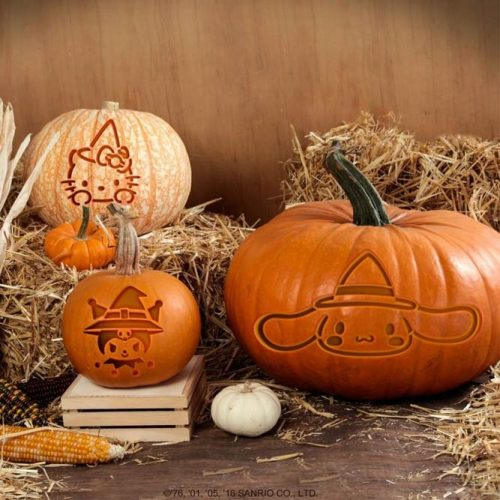 Cartoon Pumpkin Carving Idea