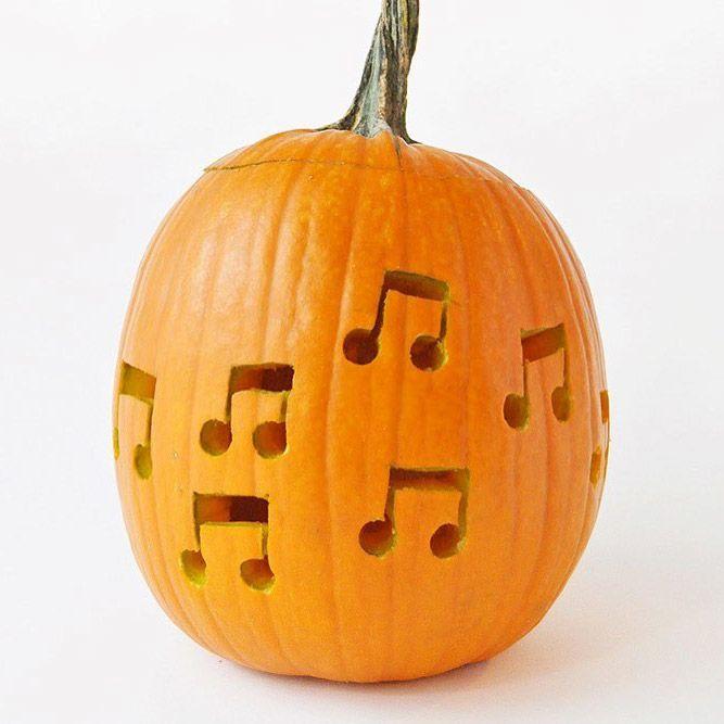 Musical Pumpkins #musicalcarving
