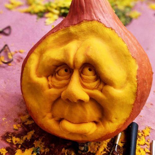 Sad Nightmare Pumkin Carving Idea