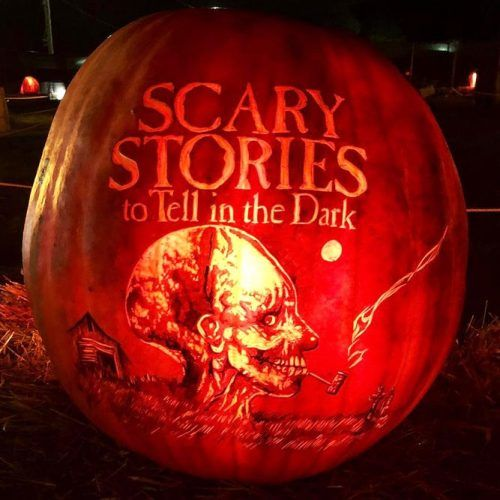 Scary Stories Pumpkin Carving Ideas #scarystories