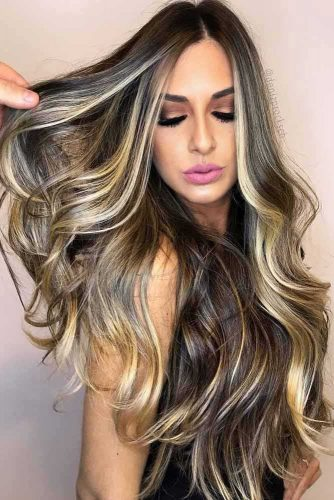 Beautiful Ideas with Highlights for Long Hair Picture3