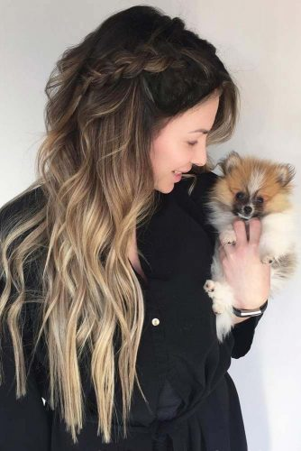 Cute Hairstyles for Long Hair with Hightlights Picture3