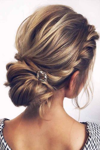 Braided Updo Hairstyles with Balayage Picture 3
