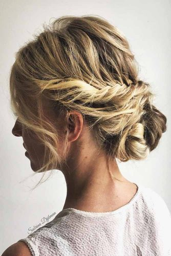 Braided Updo Hairstyles with Balayage Picture 6