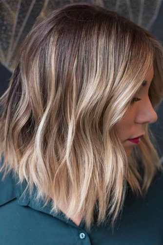 Rock Highlights On Medium Length Layered Hair picture 3