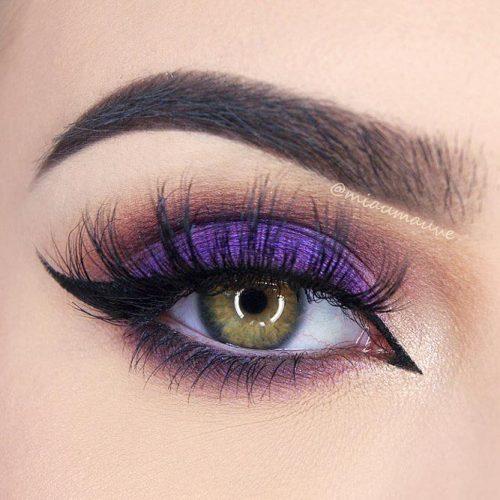 Purple Smokey Eye for Green Eyes picture 5