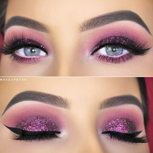Smokey Eye Ideas for Girls with Blue Eyes picture 4