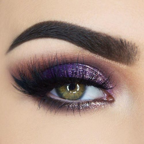 Purple Smokey Eye for Green Eyes picture 6