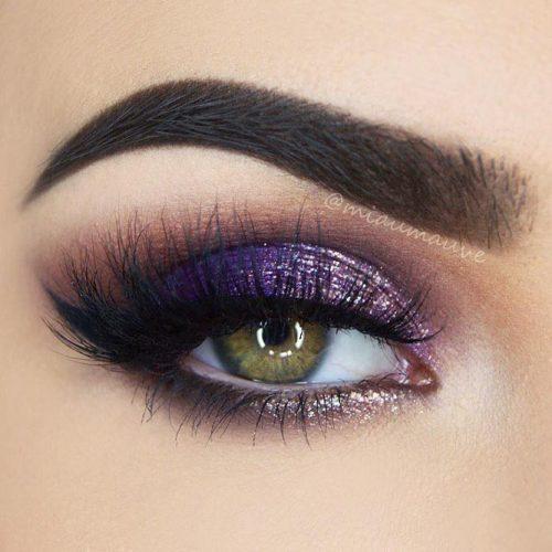 Purple Smokey Eye for Green Eyes picture 6