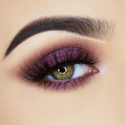 Purple Smokey Eye for Green Eyes picture 4