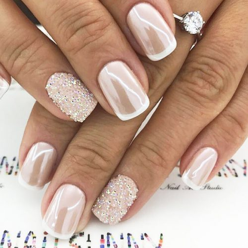 Awesome Sparkly Designs for Natural Nails picture 1
