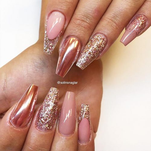 Cute Shimmer Nails for Any Occasion Picture 5