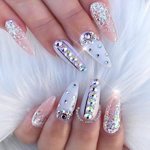 Glitter Nails Designs for Long Nails picture 1