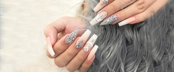 24 Latest Shimmer Nails Designs