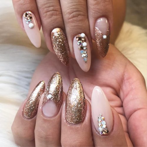Awesome Sparkly Designs for Natural Nails Picture 6
