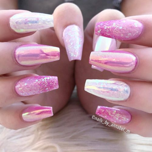 Glitter Nails Designs for Long Nails picture 3