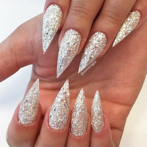 Glitter Nails Designs for Long Nails picture 5
