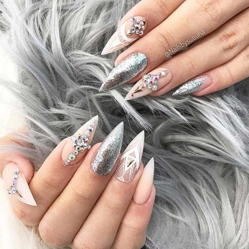 Cute Shimmer Nails for Any Occasion Picture 6