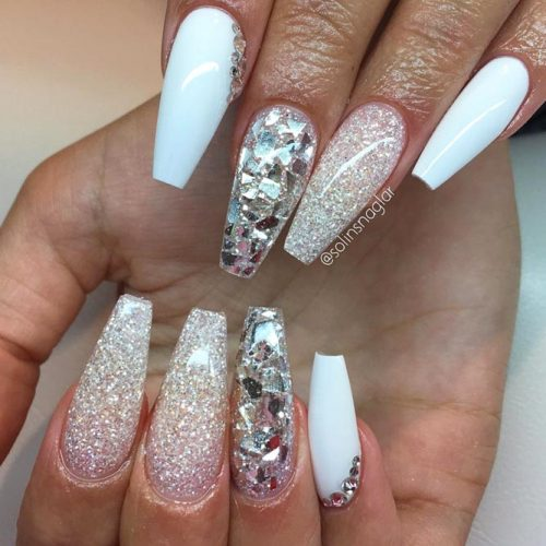 Glitter Nails Designs for Long Nails picture 4